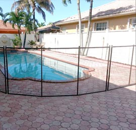 Baby Guard Pool Fence Installation In Tampa Florida