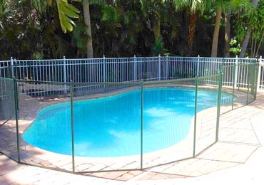 Green Pool Fences